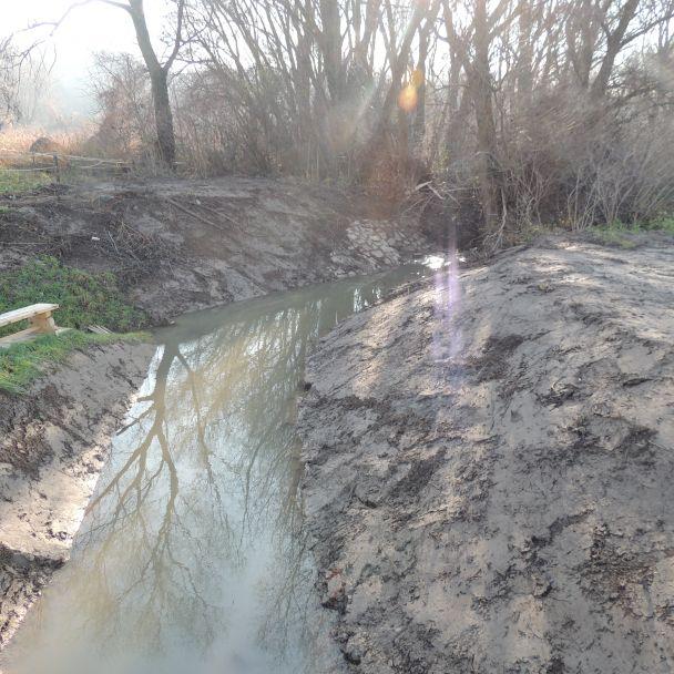 Regulácia potoka - 2015