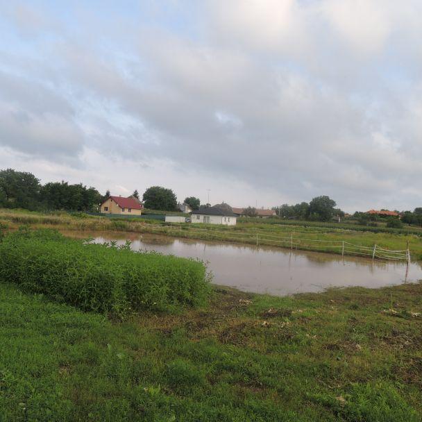 Následky povodne - 2016
