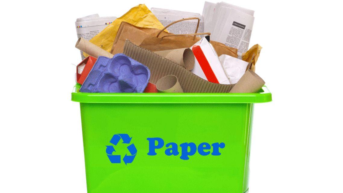 Recyklácia papiera